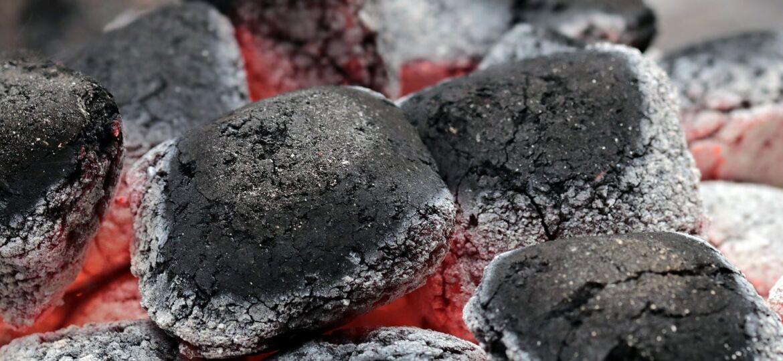 carbón barbacoa