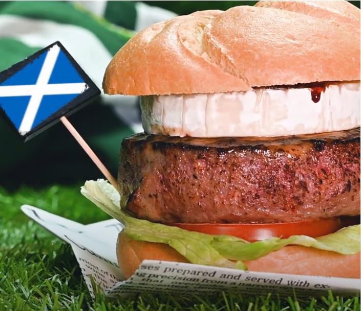 receta burger
