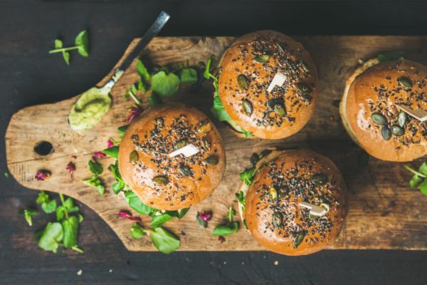 Recetas de burger saludables